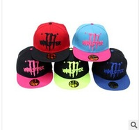 2014 free shipping Fashion baseball cap snapback hat sunbonnet sports casual cap for man and woman hip hop