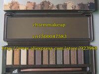 Free shipping New 12 colors eyeshadow eye shadow pallete (6 pcs/lots)6pcs