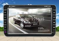 8Inch Touch Screen 2Din Car dvd player Radio with GPS For Volkswagen MAGOTAN/SAGITAR/BORA/GOLF6/CADDY USB,SD,Bluetooth,Radio,mp3