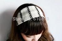5pcs Wholesale Fashion Women's Sport Yoga Hairbands Biker Wide Stretchy Head Accessories Knitting Headbands