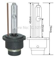 Free shipping 12V 35W D2S D2R D2C HID xenon Lamp single beam HID conversion kit. luces HID xenon car  light lamps 2 pcs 6000K