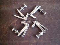 20 PCs Silver Color Violin Fine tuner 3/4-4/4