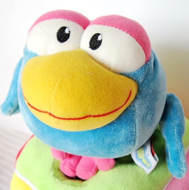 Free Shipping! Big Eyes Sweet Bird, Cute plush toy doll Christmas gift,soft animal toy,fabric doll gift,classic toy(China (Mainland))