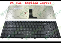 New Laptop keyboard for Samsung R580 R590 NP-R580 NP-R590 Black UK English GB Version - BA5902681A