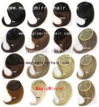 Shiping livre frente de cabelo Bang Bang extensão clipe em franja do golpe cabelo sintético bonito extensão franja cabelo 16 cores disponíveis(China (Mainland))