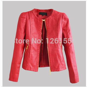 Женская куртка WD22 Feminino Jaqueta couro 3colours ASD женская куртка new brand s xxxxl 2015 feminino jaqueta couro 380