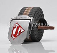 2014 new brand men fashion canvas belts,men's female leisure joker thickening personality belts,male Military belts Woven belts