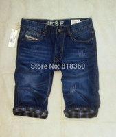 2014 New designer Jeans Leisure Fashion Men Burst Models Handsome Brand Denim Riding Breeches Free Shipping Promotion