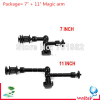 """Free tracking number Studio Accessory 7"""" Adjustable Magic Arm+11"""" Magic Arm For Camera LCD monitor LED light"""