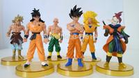 anime Dragon Ball Z action figures Super Saiyan adventure animation wrestle cartoon models Monkey King Son Gohan and Vegeta