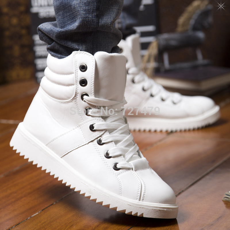 mens white leather boots promotion shop for promotional