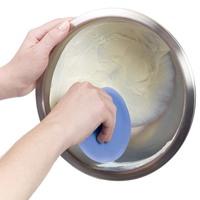 USA Oxo Silcone Spatula 2 Piece Bowl Scraper Set Baking kit Blue with Green Free Shipping