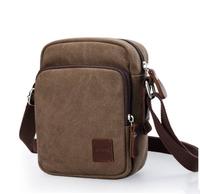 2014 vintage casual man small shoulder messenger canvas bag