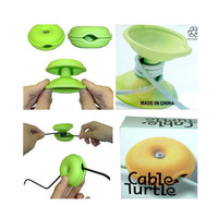 New Cable Turtle Cord Wire Box Organizer Wrap Winder free shipping JW008