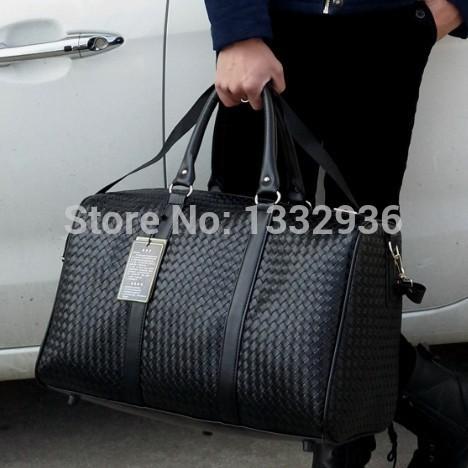 BG 2014 new arrival korean waterproof men handbags leather man casual travel shoulder bags Multicolor male t