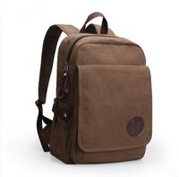Backpack canvas laptop backpack travel bag casual bag student school bag