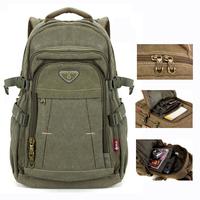 "mochila notebook Canvas backpack zipper men 14"" 15 inch laptop 2015 mochila military men Vintage casual college school bags"