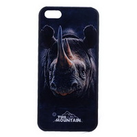 New Arrival 3D Phone Case For Iphone 5 5S PC Cases Back Cover Luxury Skin