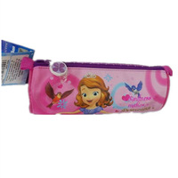 Free Shipping New 2014  Children Sofia the First  Princess School Pencil Bag For Girls
