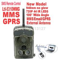 Original LTL Acorn 5310WMG 100 degree wide lens12MP GPRS MMS trail game hunting camera 940NM invisible light Free Shipping