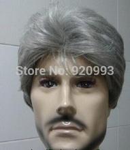 Wholesale shops **@@*****new ~ men's Costume gray healthy short elder men's hair wigs +