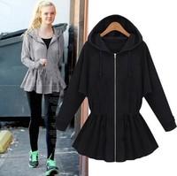 2014 New high quanlity cotton Autumn Winter fashion sport suit long sleeve Tees women blouse Hoodies paris