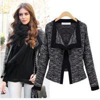 2014 Spring, Autumn&Winter, Excellent Quality, casacos femininos Top Grade Linen Ladies Cardigan, Womens Jacket Coat