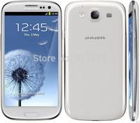 Original Samsung Galaxy S3 i9300 Mobile phone Quad Core 8MP Camera NFC 4.8'' 16GROM GPS Wifi GSM 3G Unlocked Phone