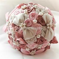 2014 buque de noiva vestido de renda bridal brooch bouquet wedding flowers bridal pearl bouquet  wedding accessories boutonniere