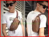 2014 new men's casual canvas pockets fashion pockets man bags  explosion models B-016