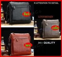 2014 High Quality men messenger bag,fashion genuine leather male shoulder bag ,casual briefcase brand name bags  B-015