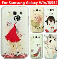 24 species pattern DIAMONO cover case for Samsung Galaxy Win case Galaxy Win cover Samsung i8552 case cover