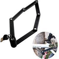 Universal lock TY3853 folding bicycle lock anti-theft lock of motorcycle mountain bike lock anti hydraulic shear
