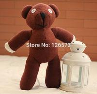 35cm Mr Bean Teddy Bear Animal Stuffed Plush Toy, Brown Figure Doll Child Christmas Gift Toys Wholesale