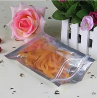 12*19cm aluminum foil food packaging bag zip lock