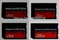 h2testw Full real Capacity High Speed MS HX 4GB 8GB 16GB 32GB 64GB Memory Stick Pro Duo Memory Cards Free Gift Plastic Box