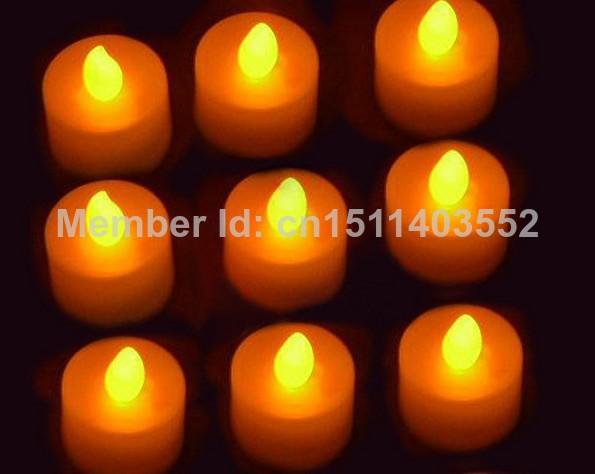 60pcs/lot change Tea Light LED Candle Xmas Wedding(China (Mainland))