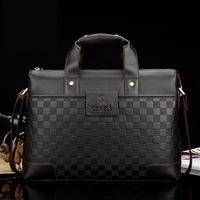 2014 New Leather Office Bags For Men Men's Bag Business Men's Bag Shoulder Bag Bolsa Notebook Diagonal Package