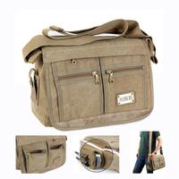 2014 Canvas Washed student school shoulder bag for teenagers Casual mens cross-body messenger bag bolsa feminina Free shipping