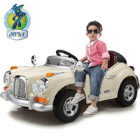 Berry Best Children's electric car stroller four dual drive can take remote control toy cars wholesale classic baby