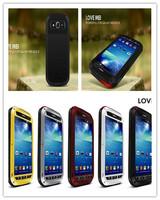 Original LOVE MEI Aluminum Powerful Waterproof Metal Case For Samsung Galaxy mega 5.8 + Gorilla Glass Free Shipping