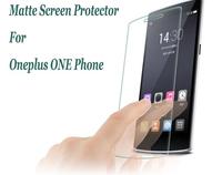 5pcs/lot Anti Scratch Anti Glare Matte Clear Screen Protector For oneplus one phone Screen Film High Quality