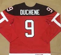 #9 Matt Duchene Men's Red/White 1914-2014 100th anniversary  Ice Hockey Jerseys Cheap Sale wholesale Accept mix order
