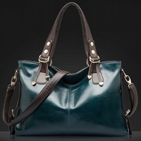 2014 New arrival fashion hangbags genuine leather bags women shoulder bags in tote bag