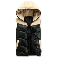 So  cool !!2014 fashion men vest  autumn Couple vest   Very warm more color  size S-XXL(MZ00025)