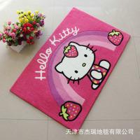 Cartoon hello kitty kitty mechanisms color carpet mats door mats for children premises shipping 50 * 80CM