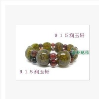 Male Bohemian fashion jewelry natural crystal bracelet agate