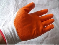 Free shipping 720pairs/lot oil-resistant slip-resistant PVC Nitrile coated Nylon Working Gloves safety gloves