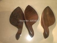 3 PCs Wenge Wood Violin Chin Rest 4/4 Violin parts