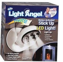 Light Angel As Seen On TV Cordless Induction Light Base Rotates 360(China (Mainland))
